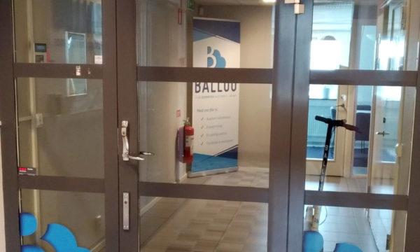 Ballou doors